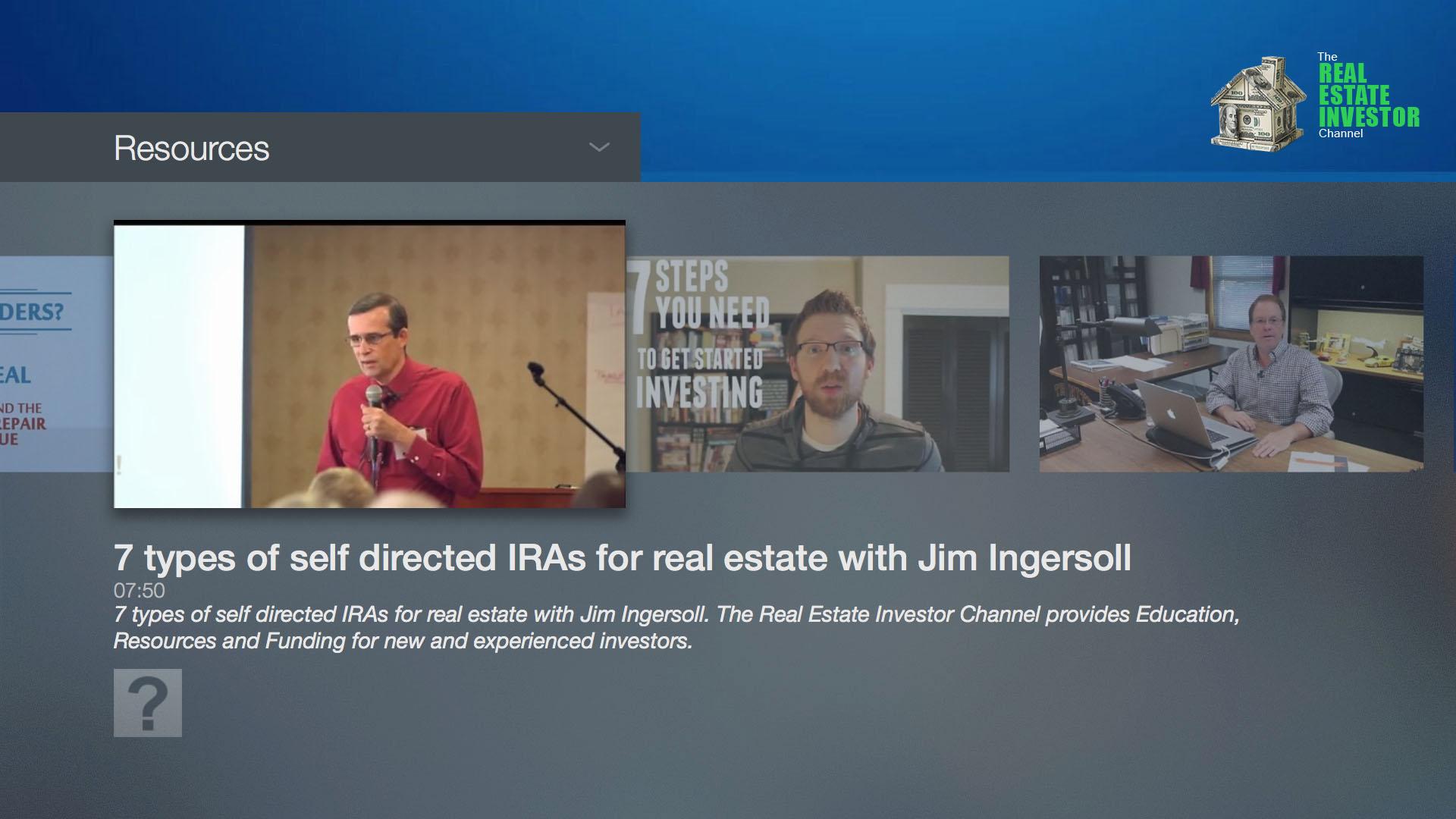 The Real Estate Investor Channel Fire Tv App Lightcast Com