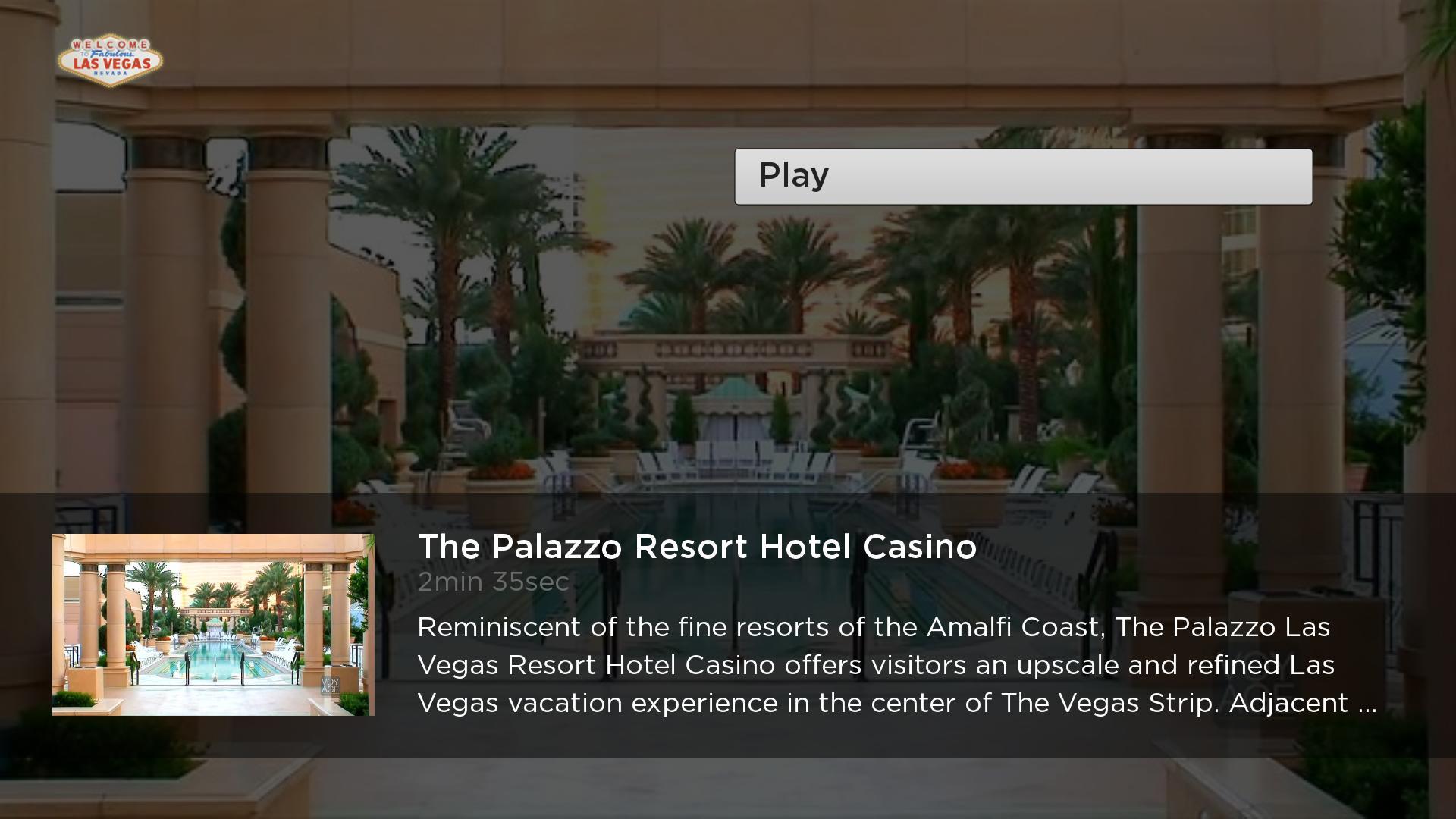 The Las Vegas Channel Roku Channel Lightcast Com