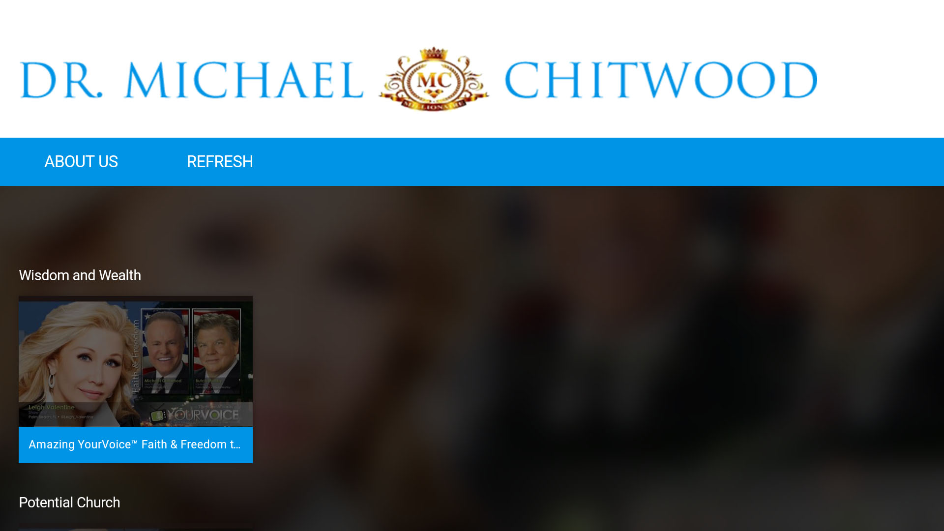 Dr. Michael Chitwood Screenshot 001