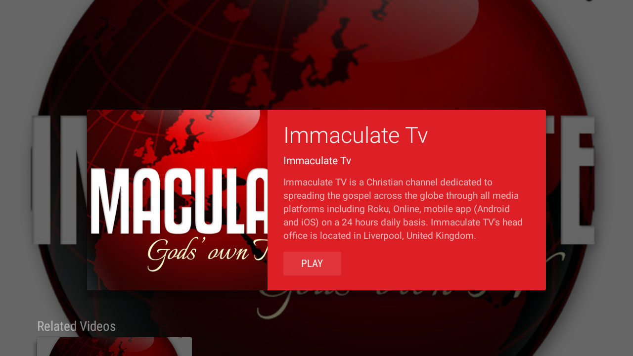Immaculate Television Screenshot 003