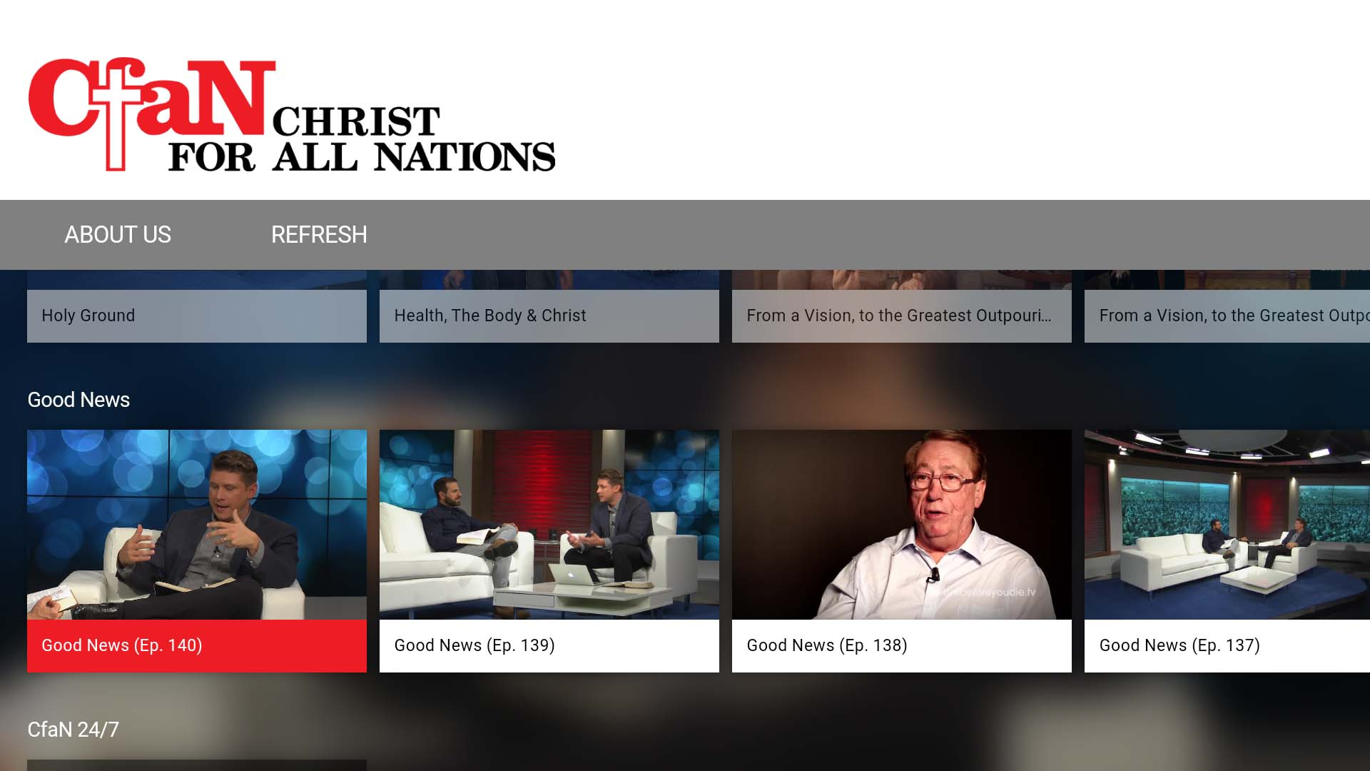 Christ for all Nations Screenshot 002