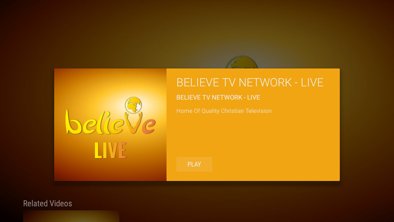 Believe TV Network - BTN Screenshot 003