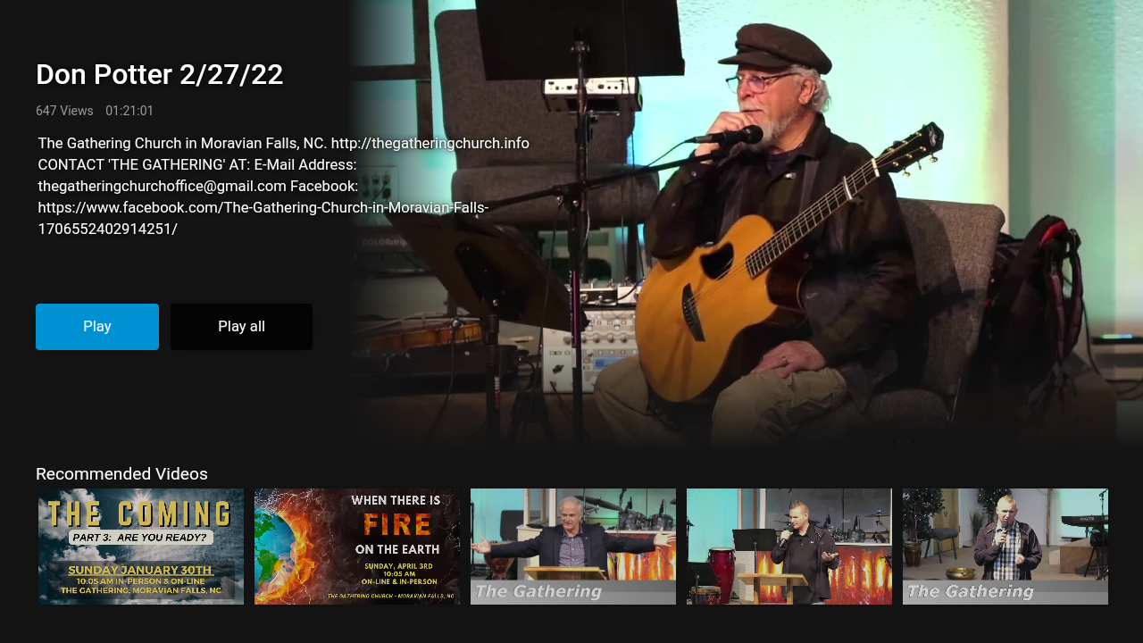 The Gathering TV Screenshot 003