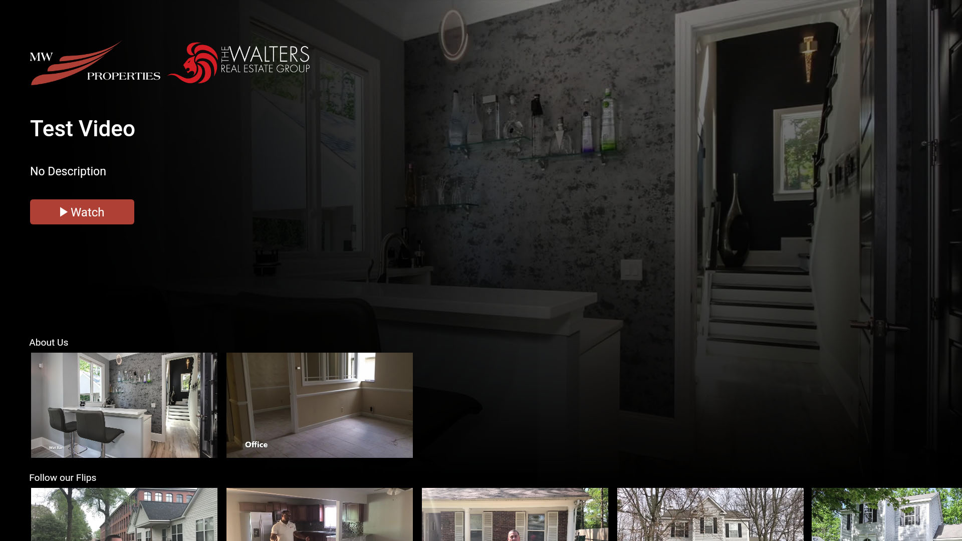 The Walters Real Estate Group Screenshot 001