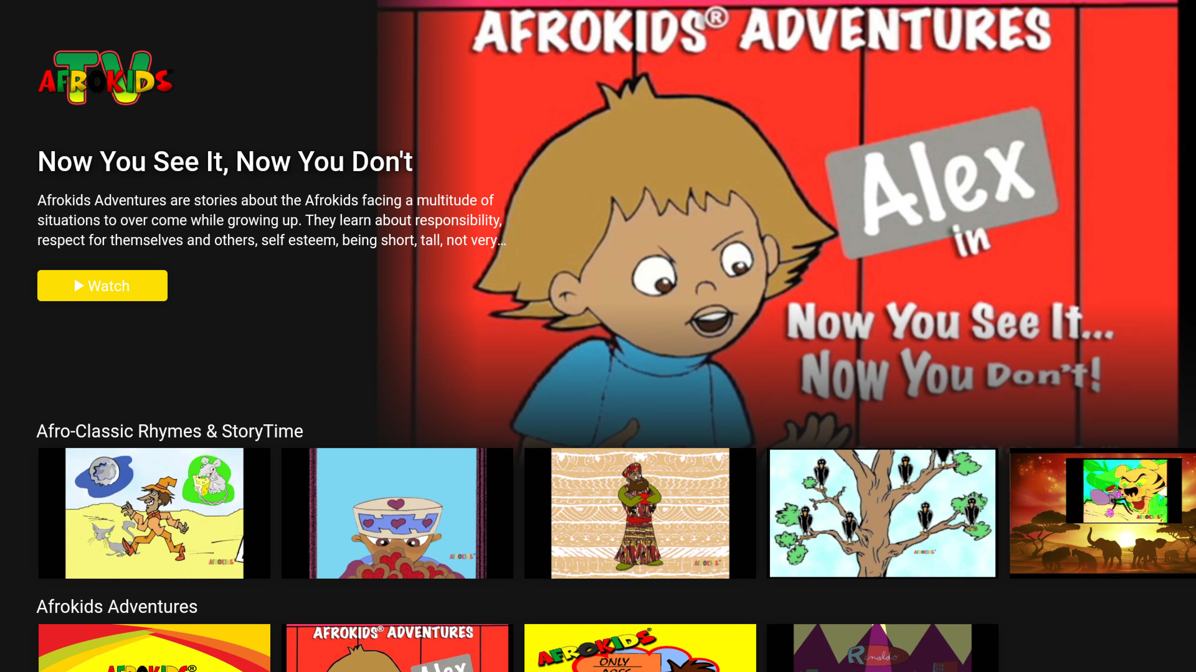 Afrokids TV Channel Screenshot 001