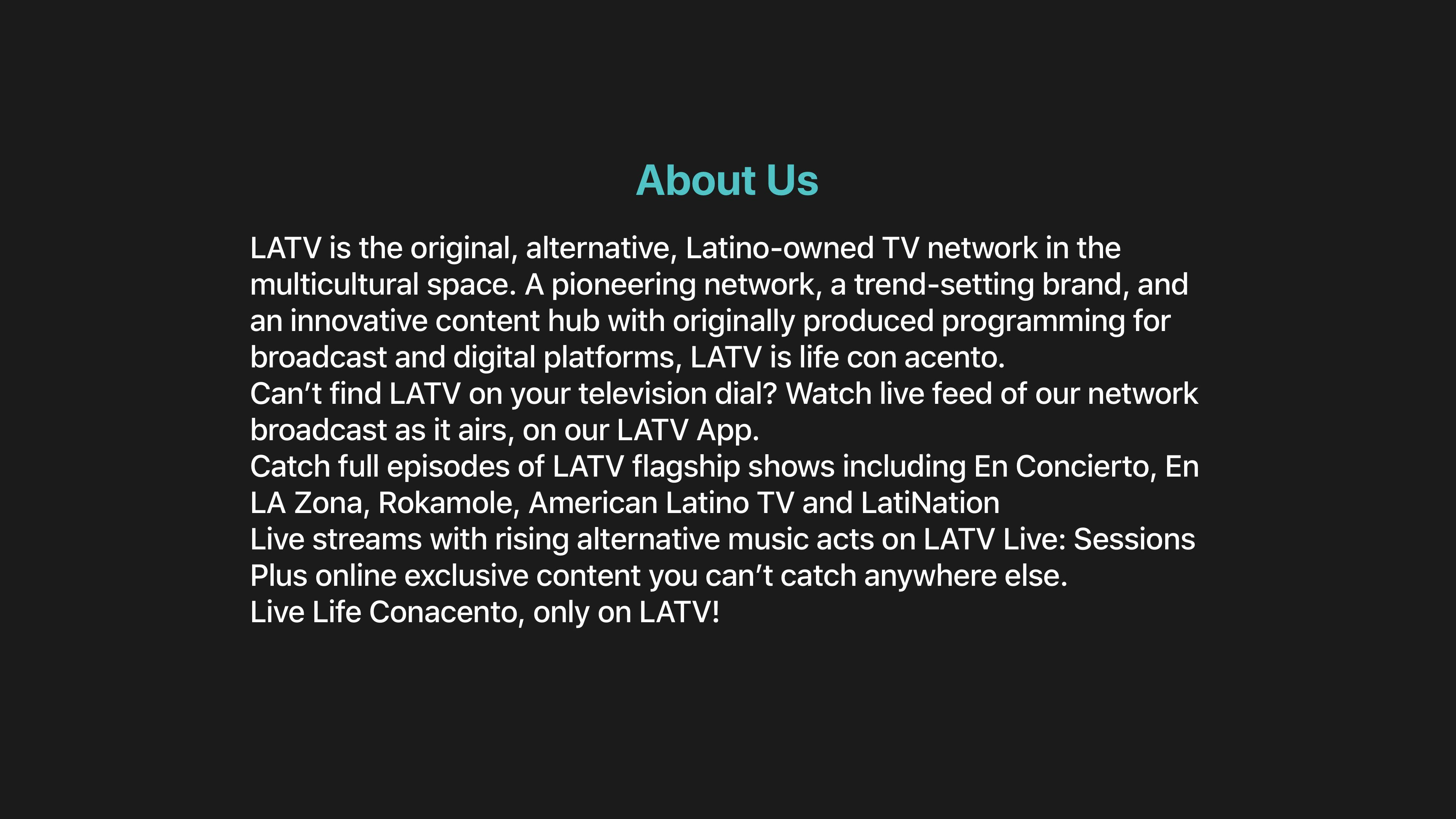 LATV Networks Screenshot 003