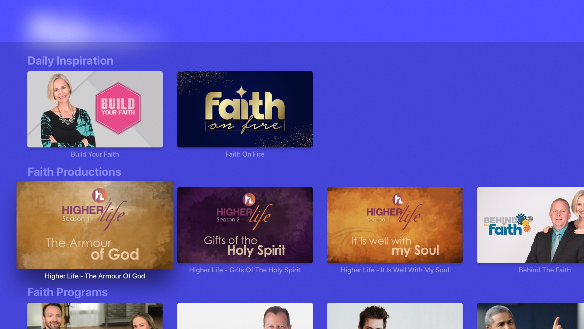 Faith Broadcasting Network TV Screenshot 002