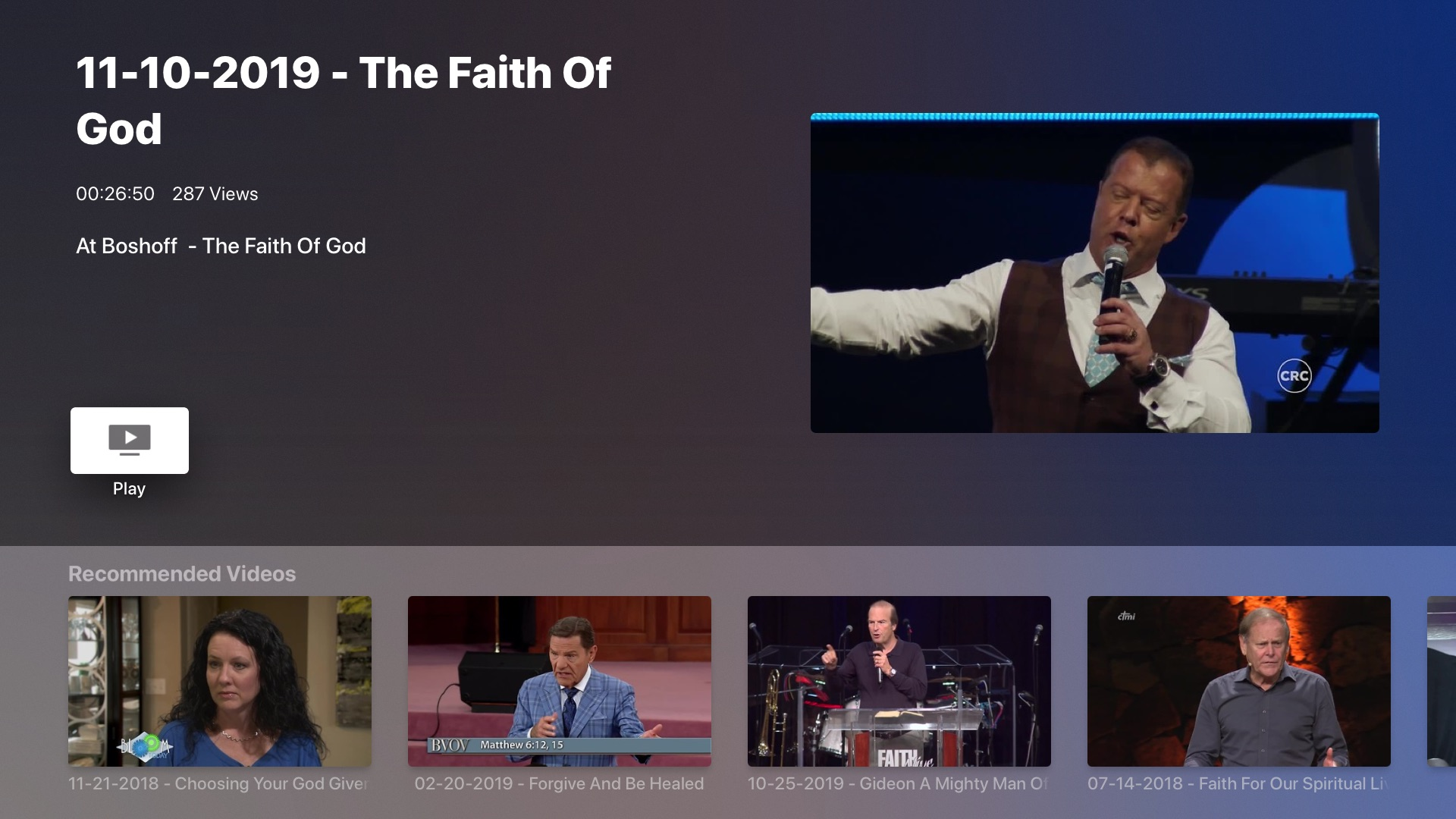 Faith Broadcasting Network TV Screenshot 003