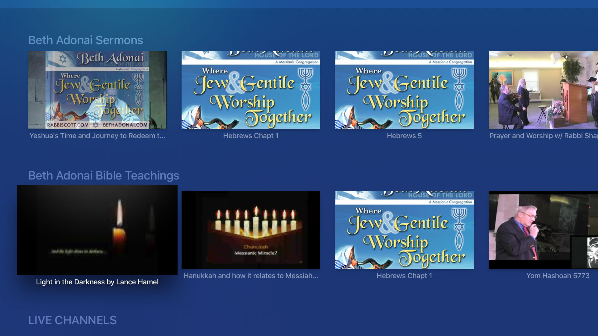 The Messianic Channel Screenshot 003