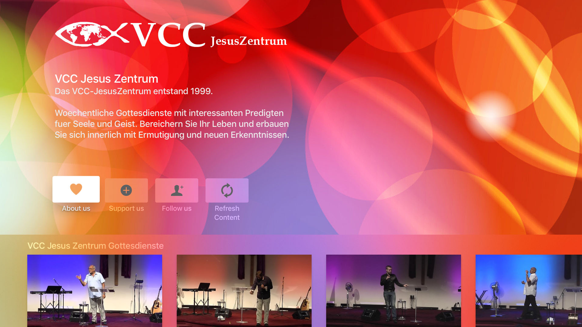VCC JesusZentrum Screenshot 001