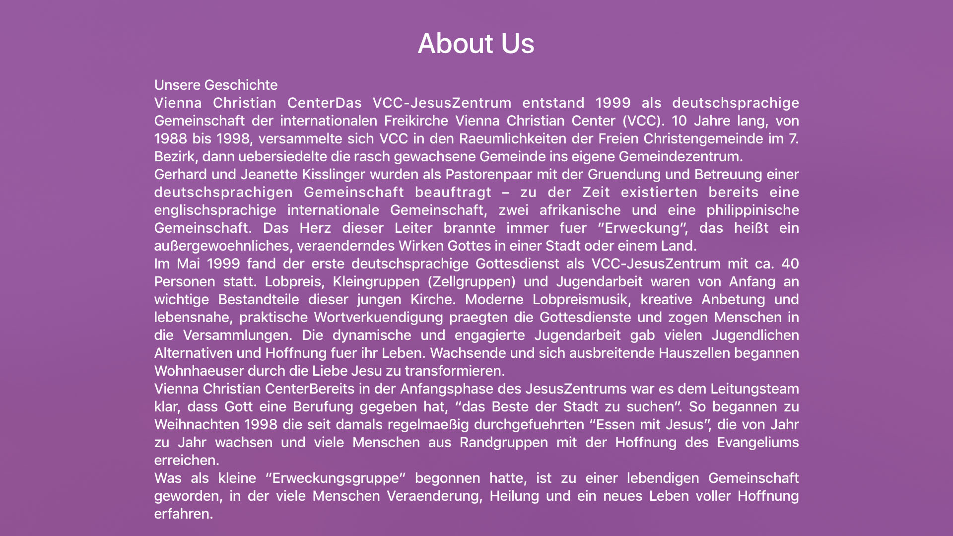 VCC JesusZentrum Screenshot 003
