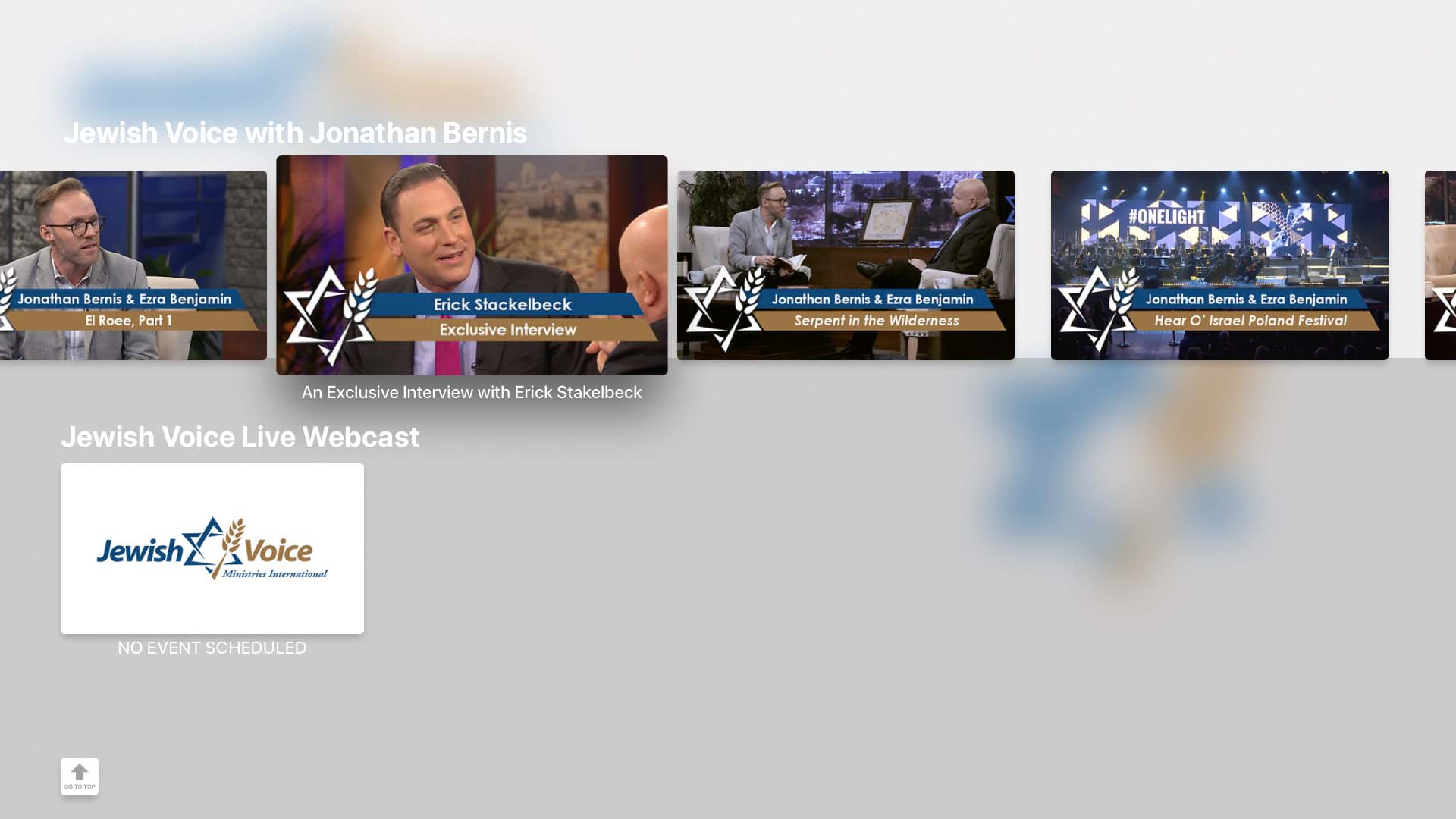 Jewish Voice - Jonathan Bernis Screenshot 002