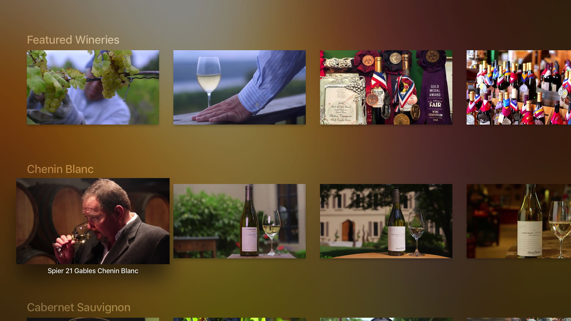 The Wine Channel Screenshot 002