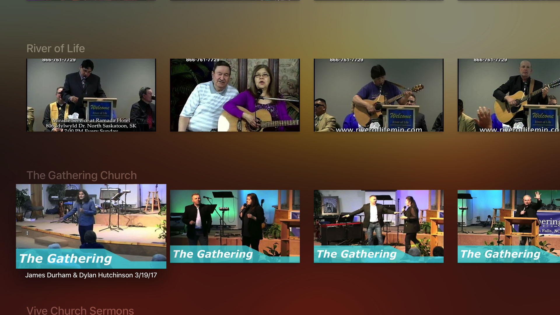 The Sermon Channel Screenshot 002