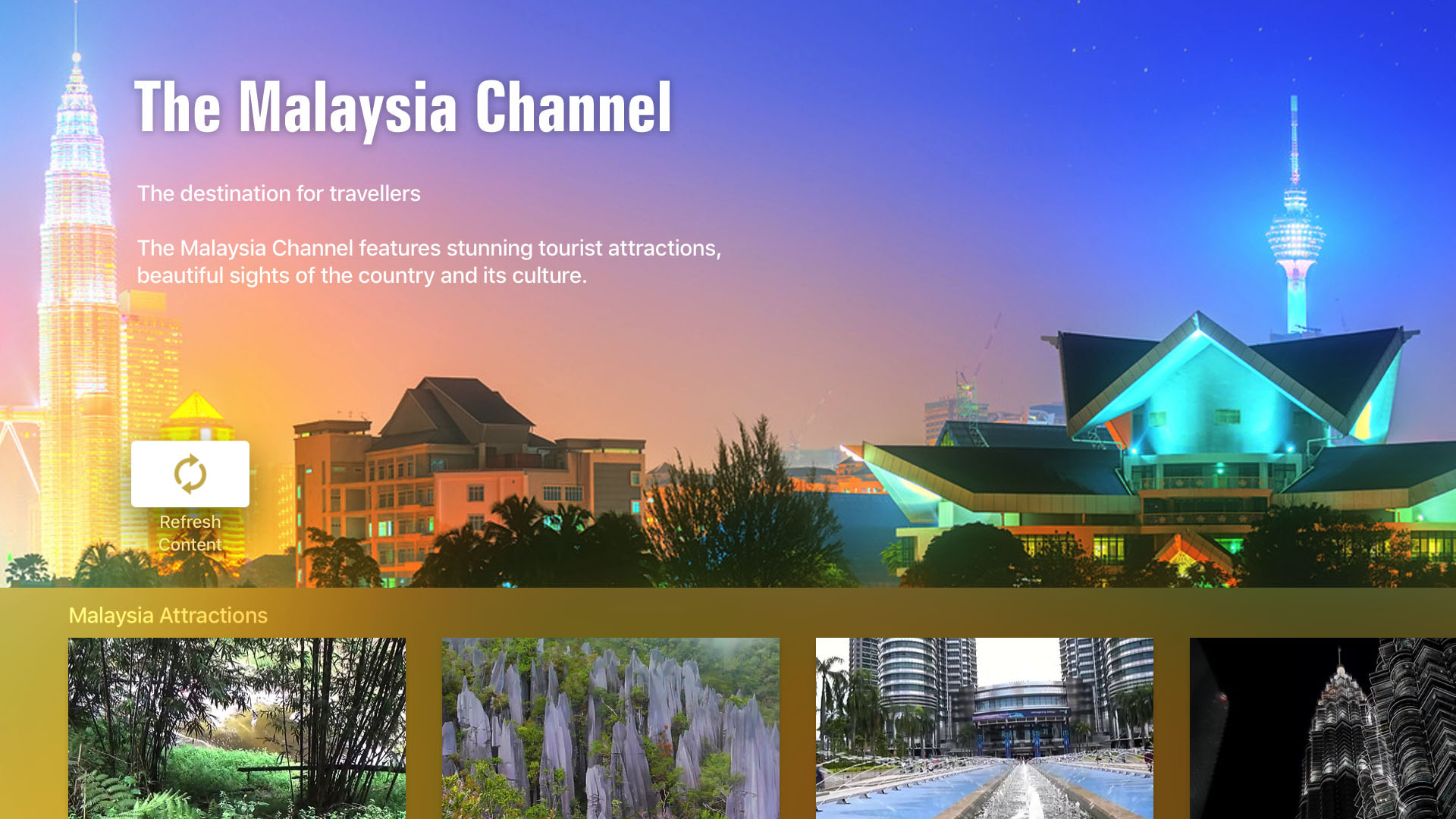 The Malaysia Channel Screenshot 001