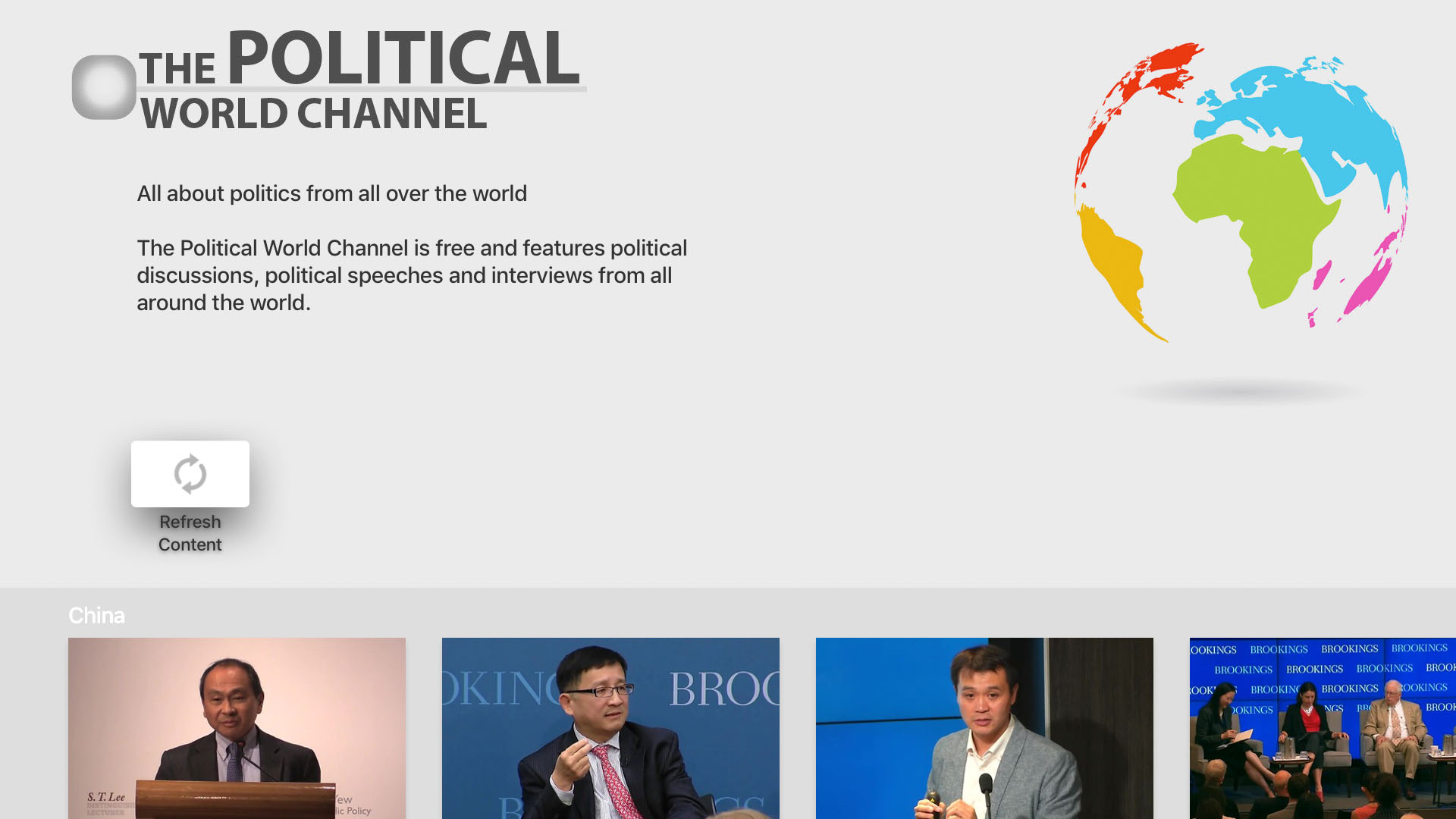 The Political World Channel Screenshot 001