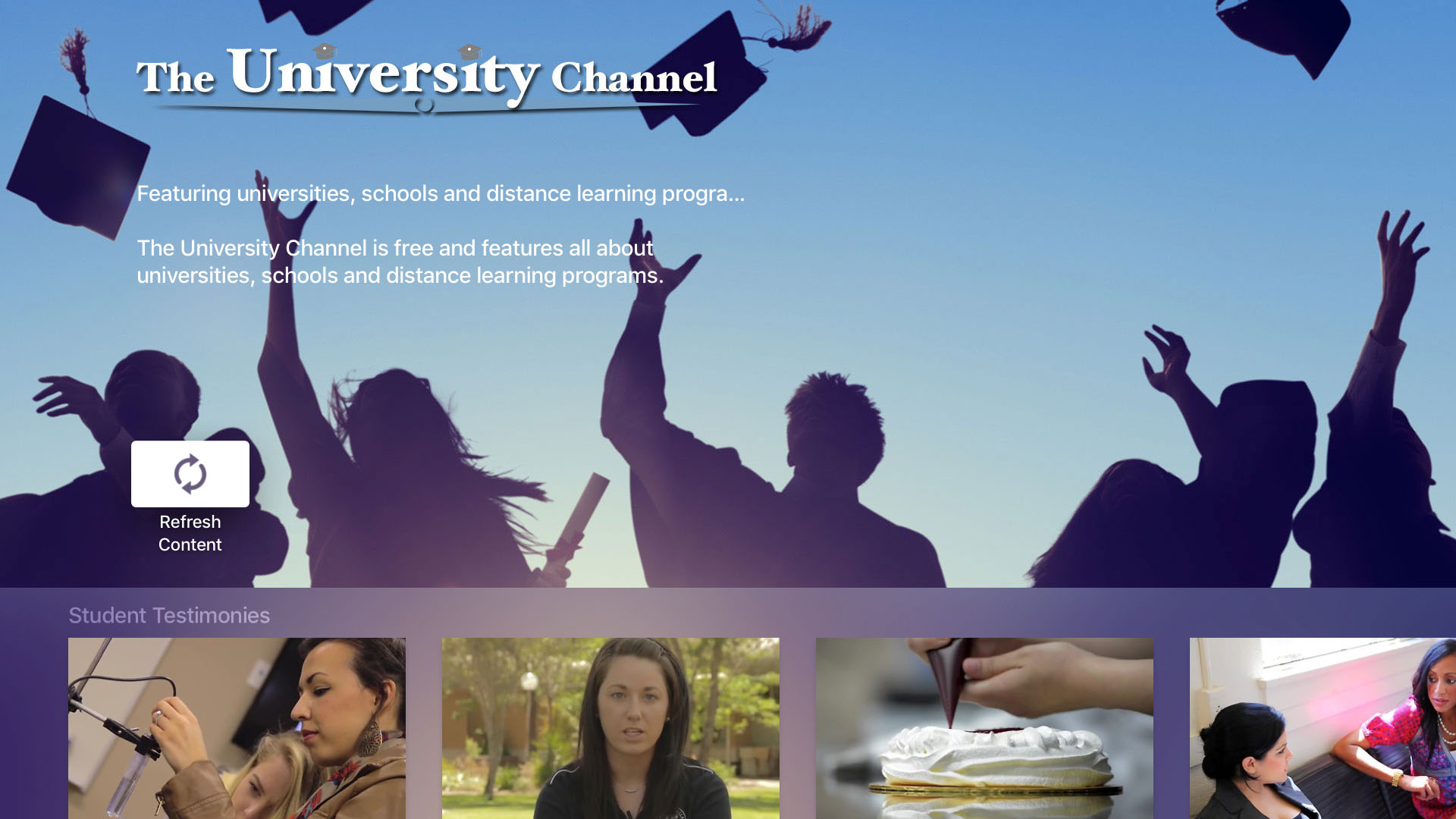 The University Channel Screenshot 001