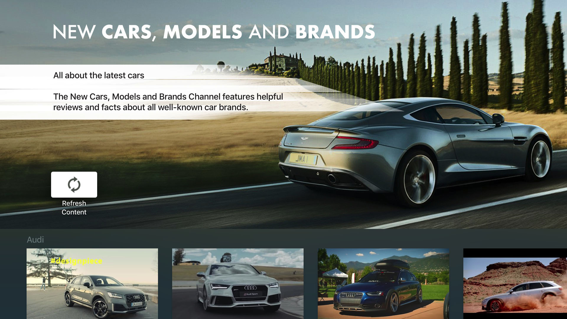 New Cars, Models and Brands Screenshot 001