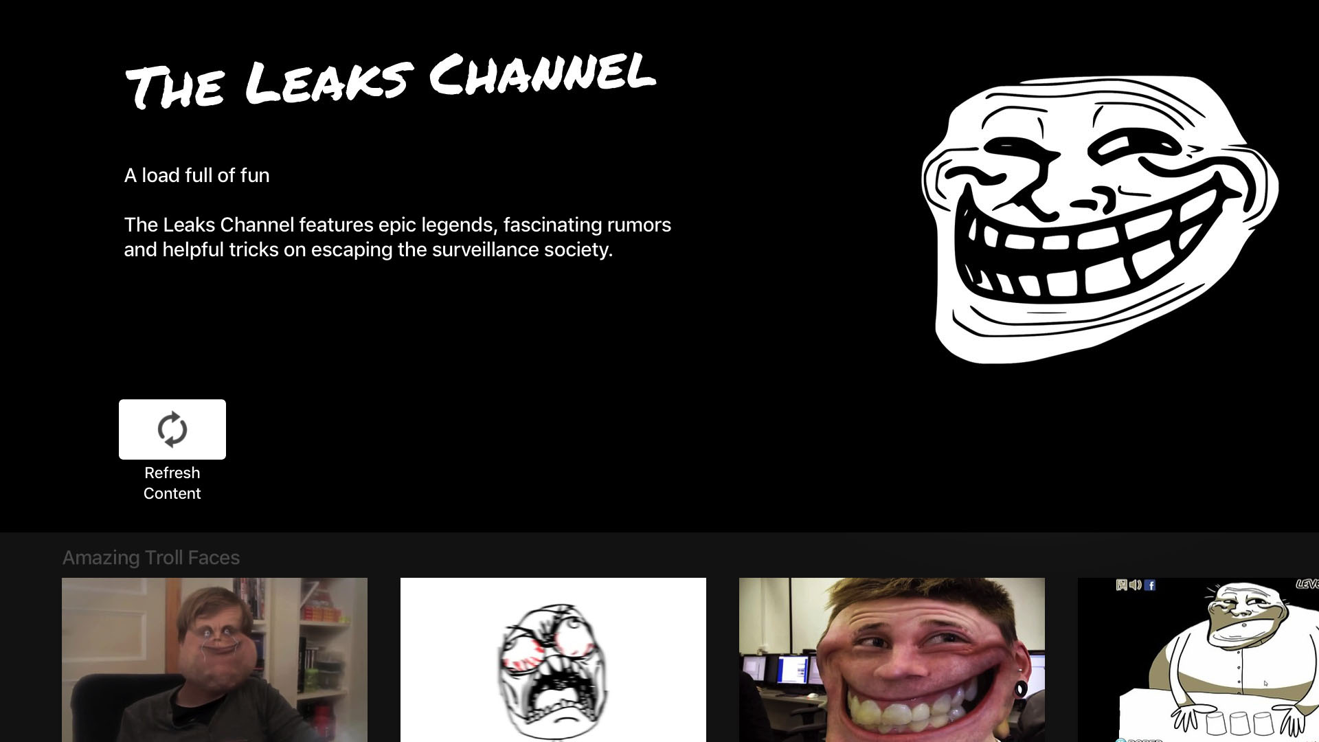 The Leaks Channel Screenshot 001