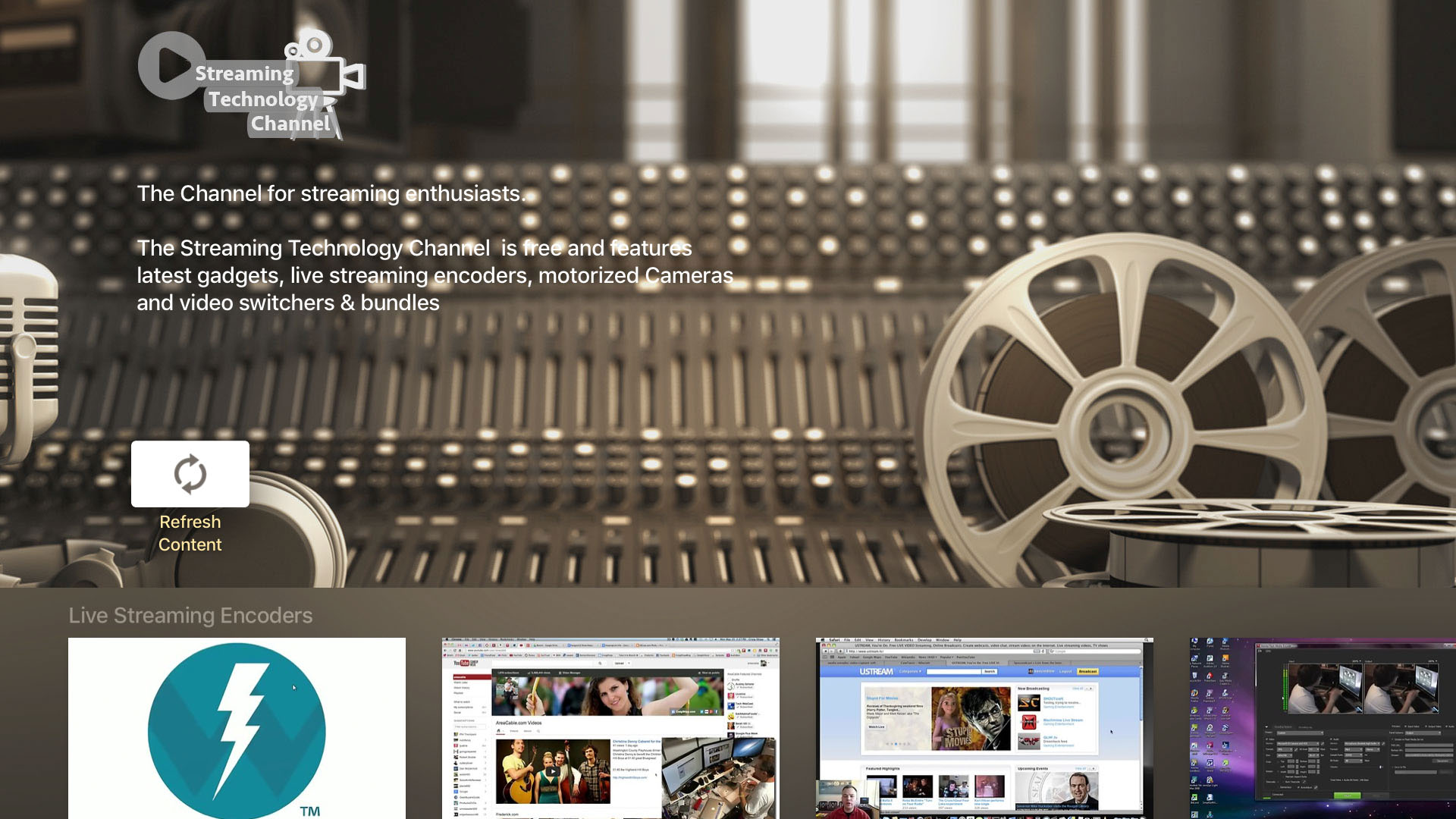 The Streaming Technology Channel Screenshot 001
