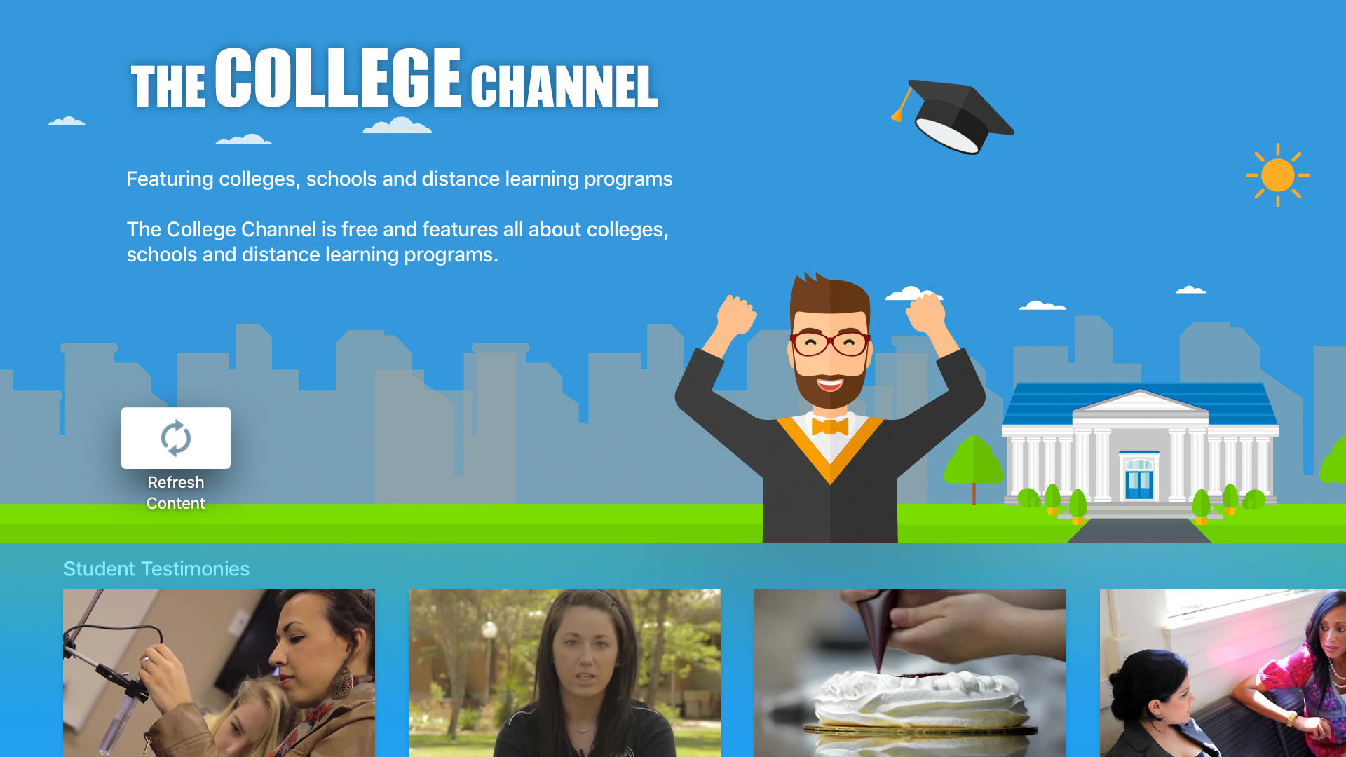 The College Channel Screenshot 001