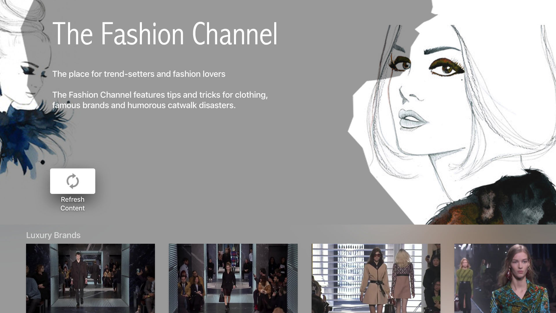 The Fashion Channel Screenshot 001