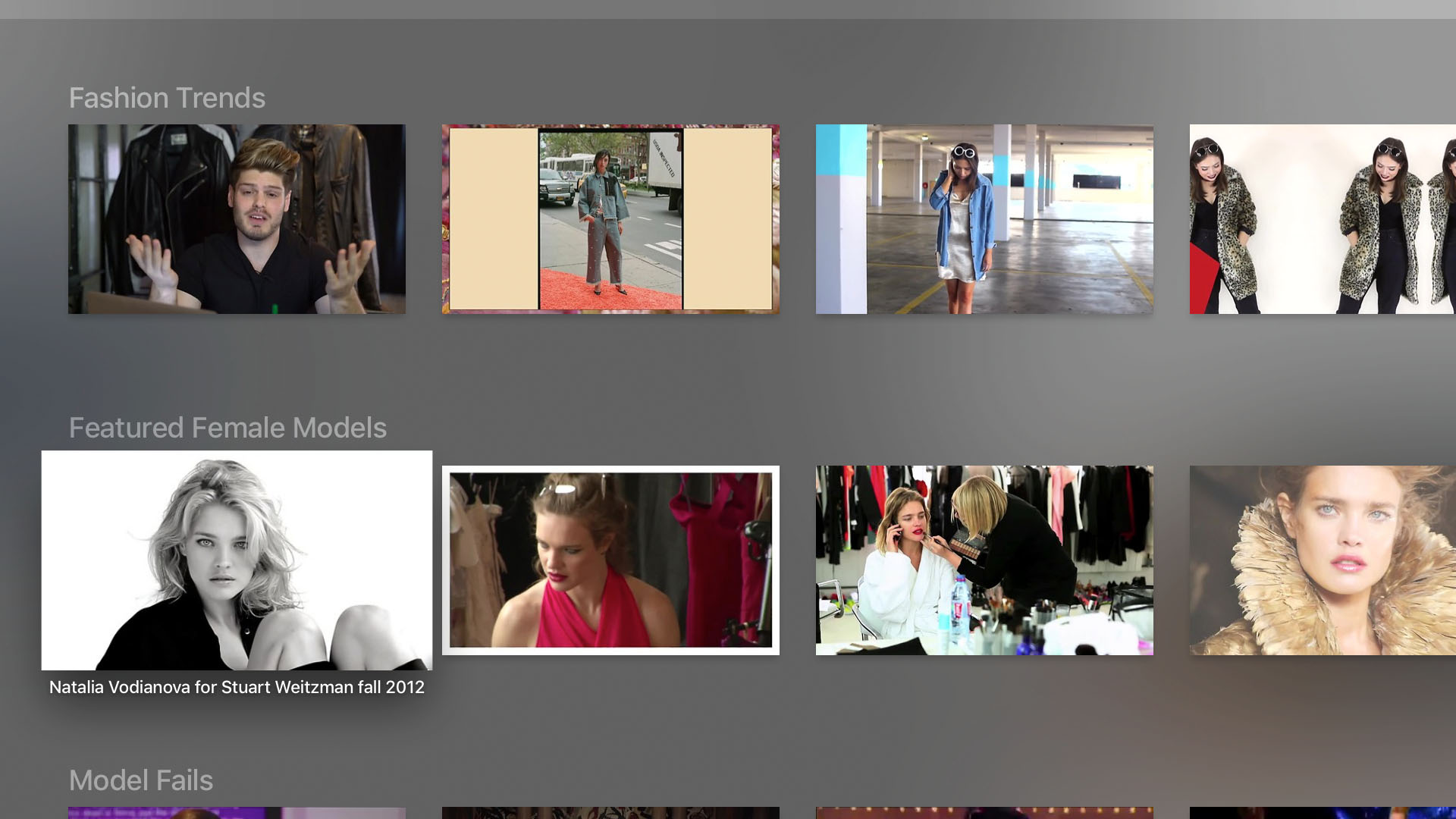 The Fashion Channel Screenshot 002