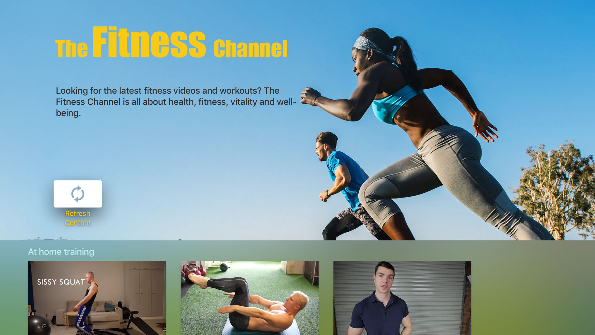 The Fitness Channel  Screenshot 001