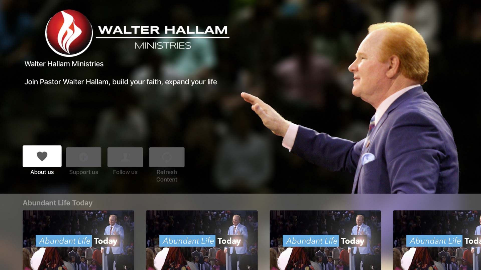 Walter Hallam Ministries Screenshot 001