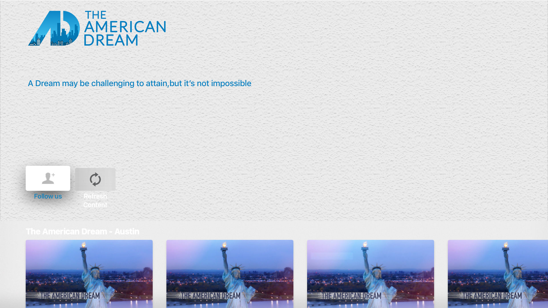 The American Dream Network Screenshot 001