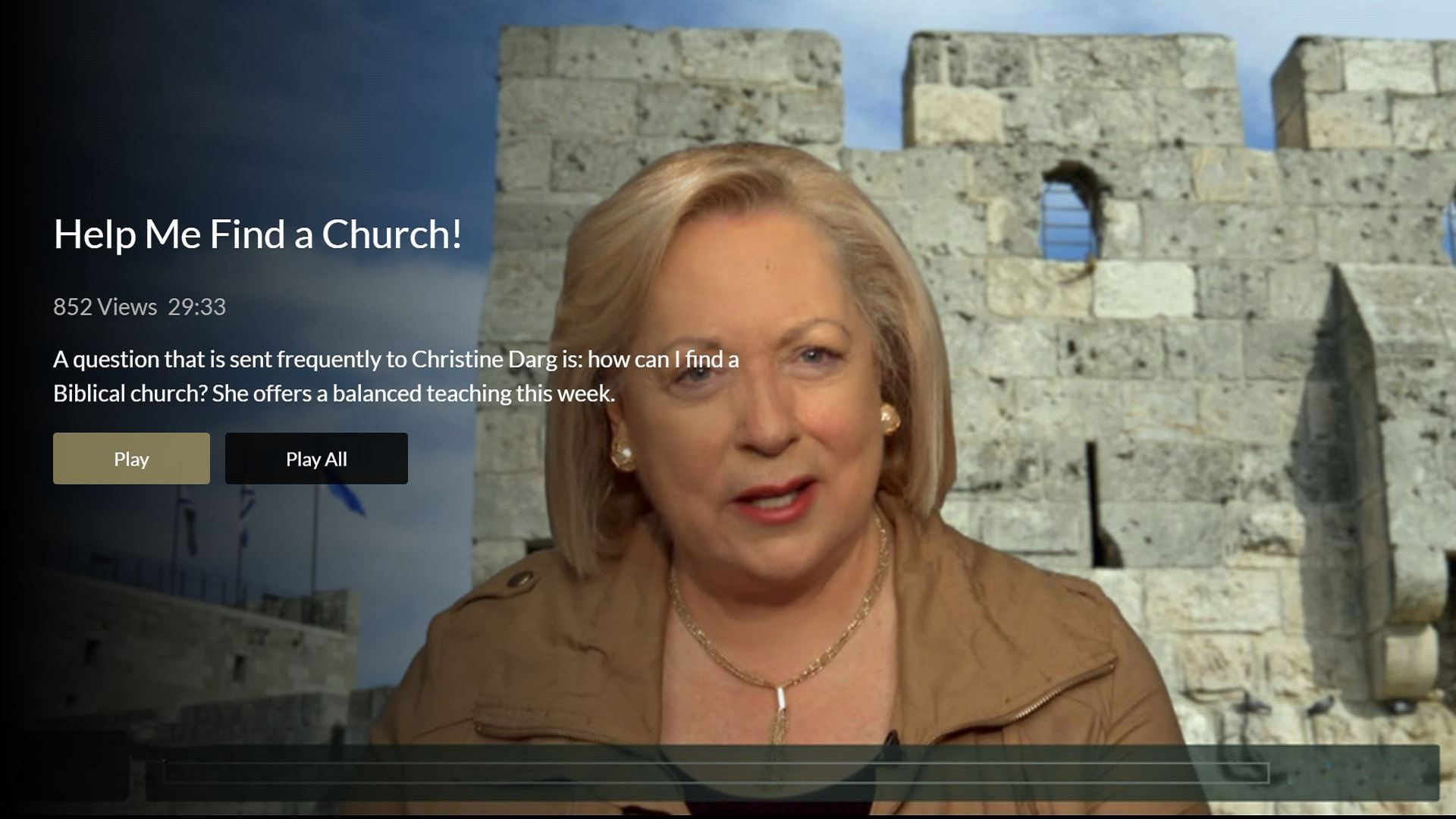 Jerusalem Channel Screenshot 002