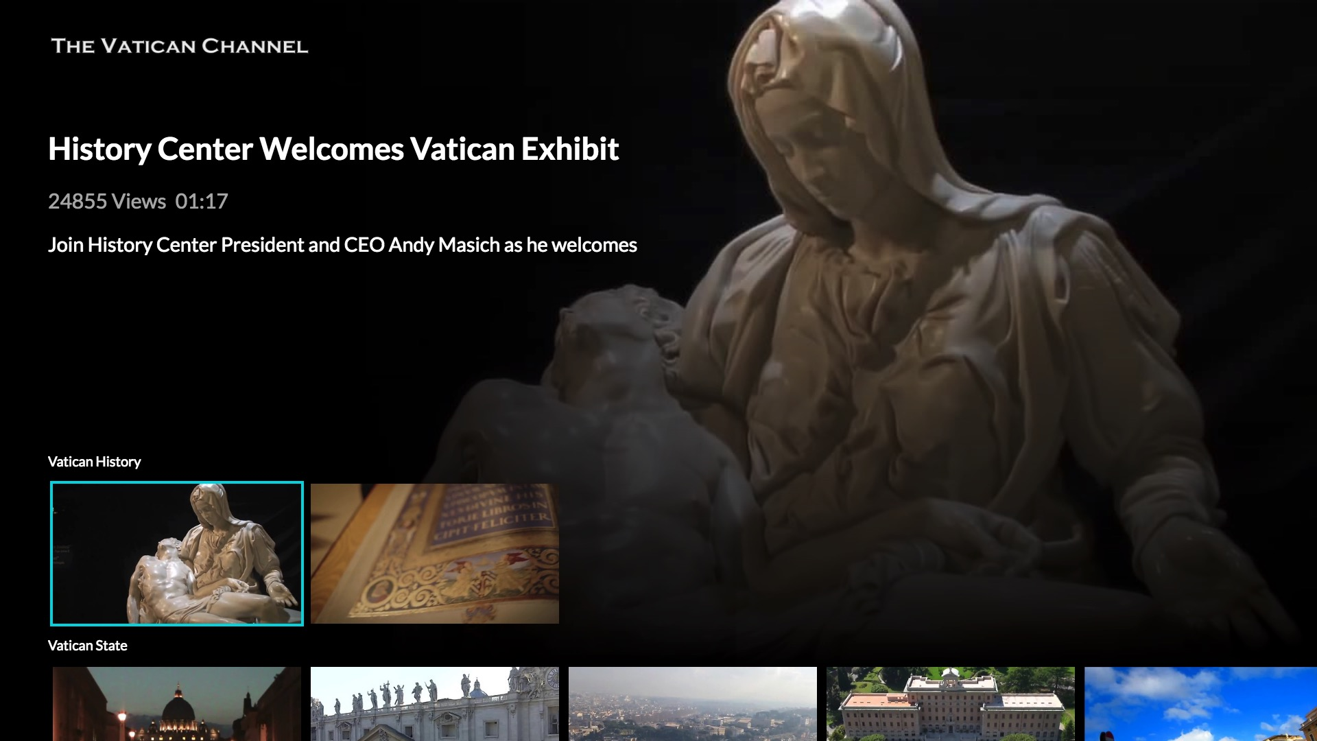 Vatican Channel Screenshot 002