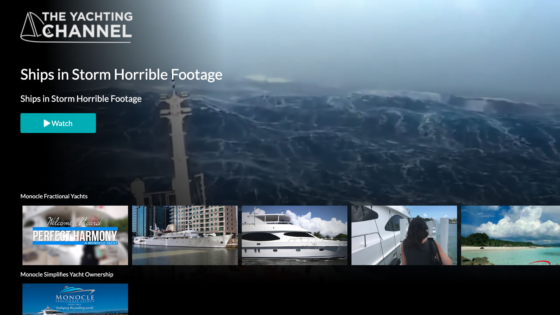 The Yachting Channel Screenshot 001