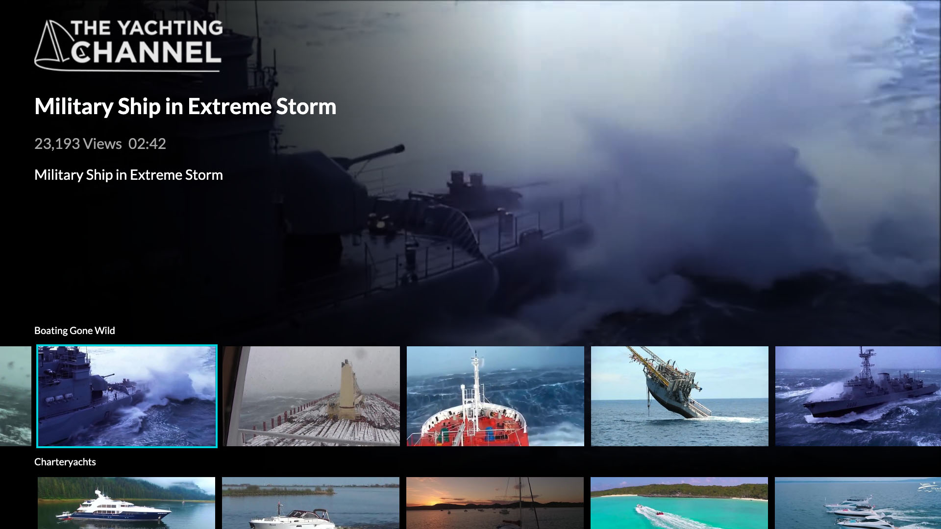 The Yachting Channel Screenshot 002