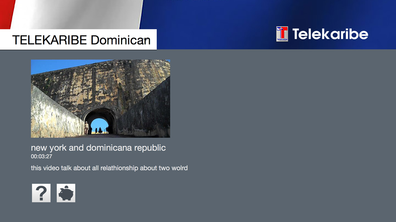 Telekaribe Dominican TV Channel Screenshot 001