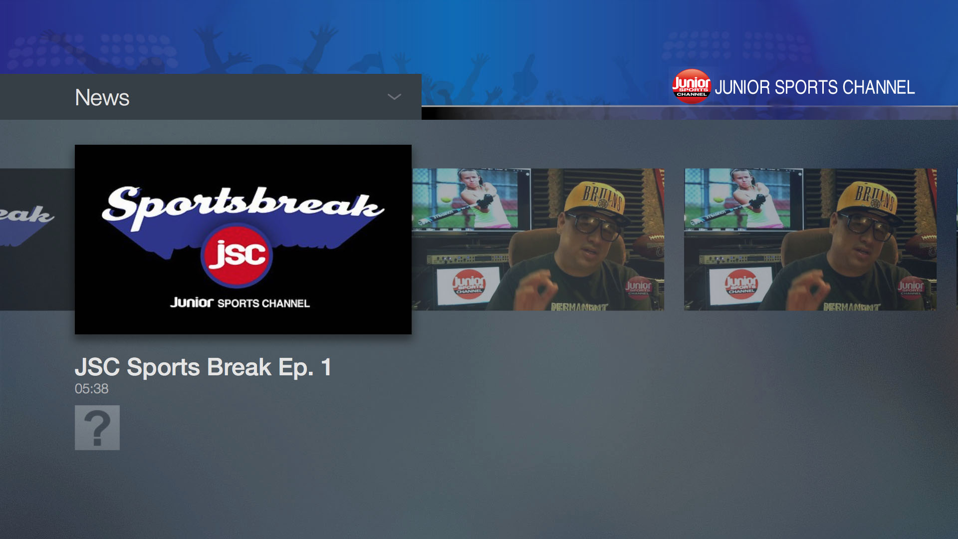 Junior Sports Channel Screenshot 003