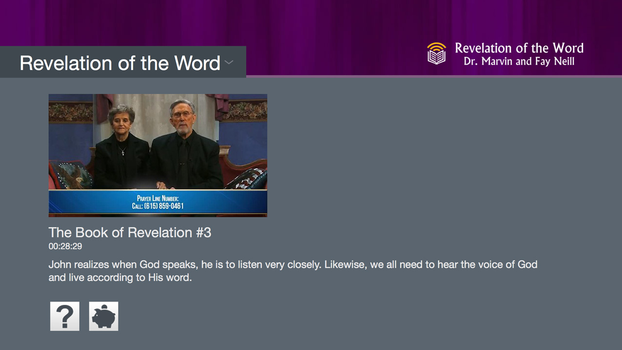 Revelation of the Word Church Screenshot 001