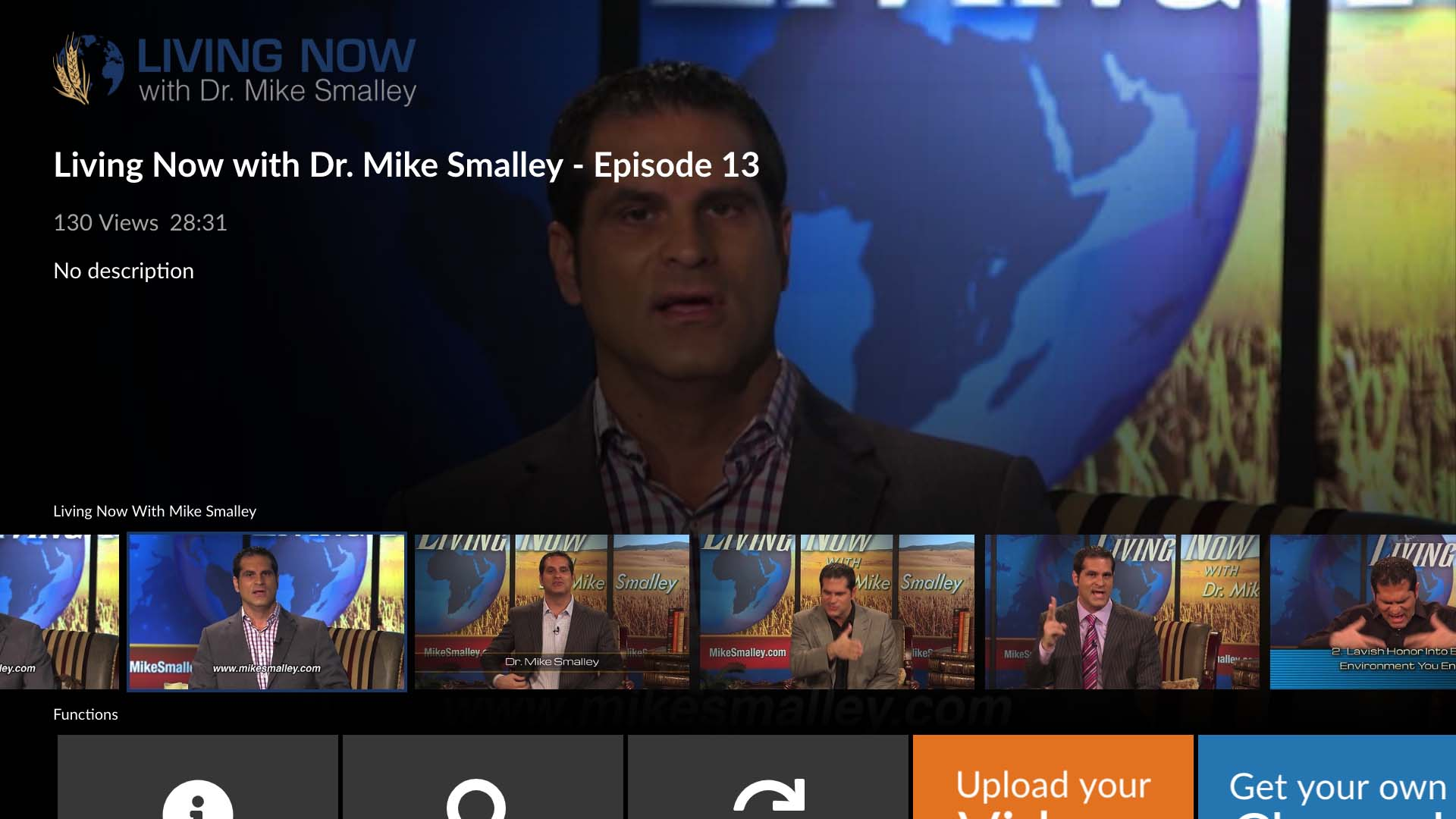 Living Now With Dr Mike Smalley Screenshot 001