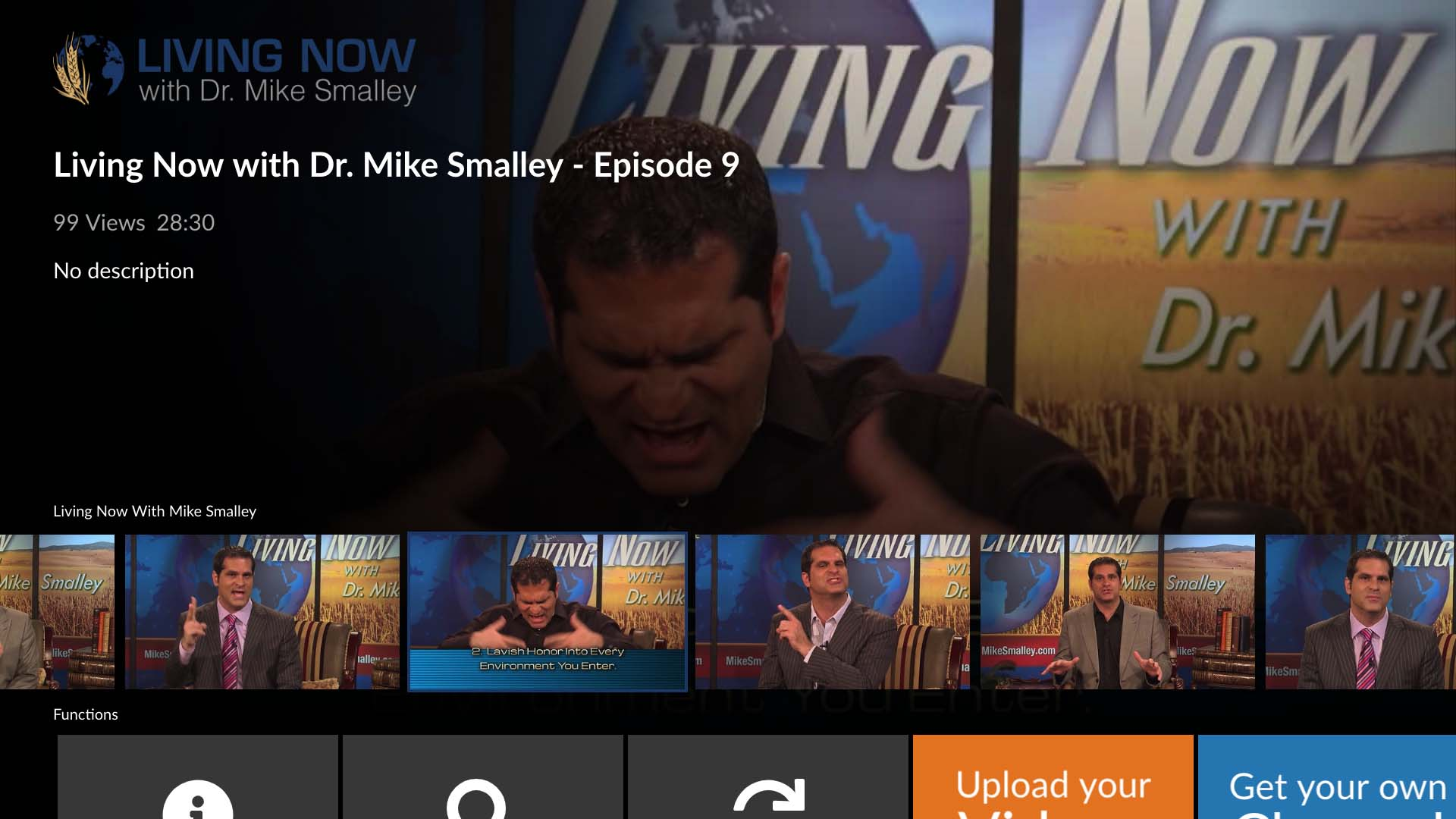 Living Now With Dr Mike Smalley Screenshot 002