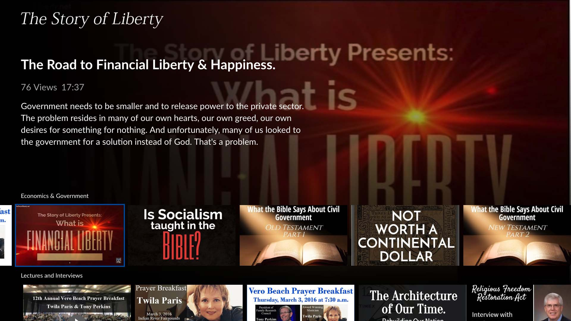 The Story of Liberty Screenshot 002