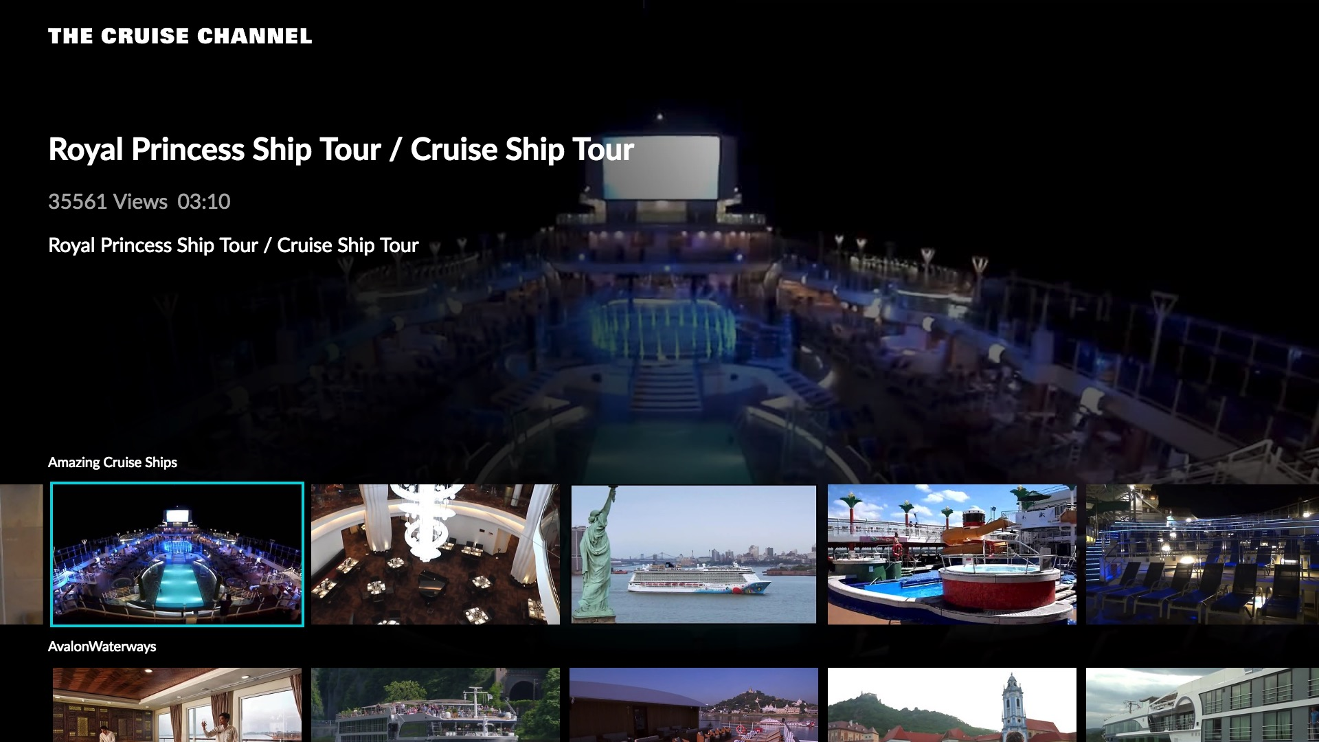 The Cruise Channel Screenshot 002