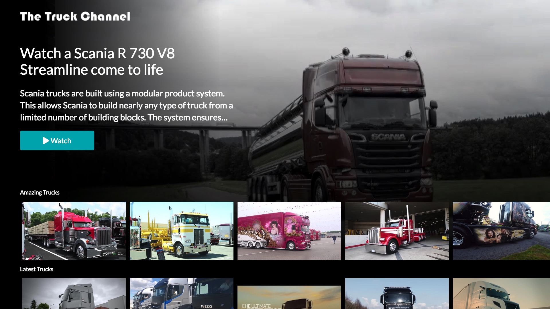 The Truck Channel Screenshot 001