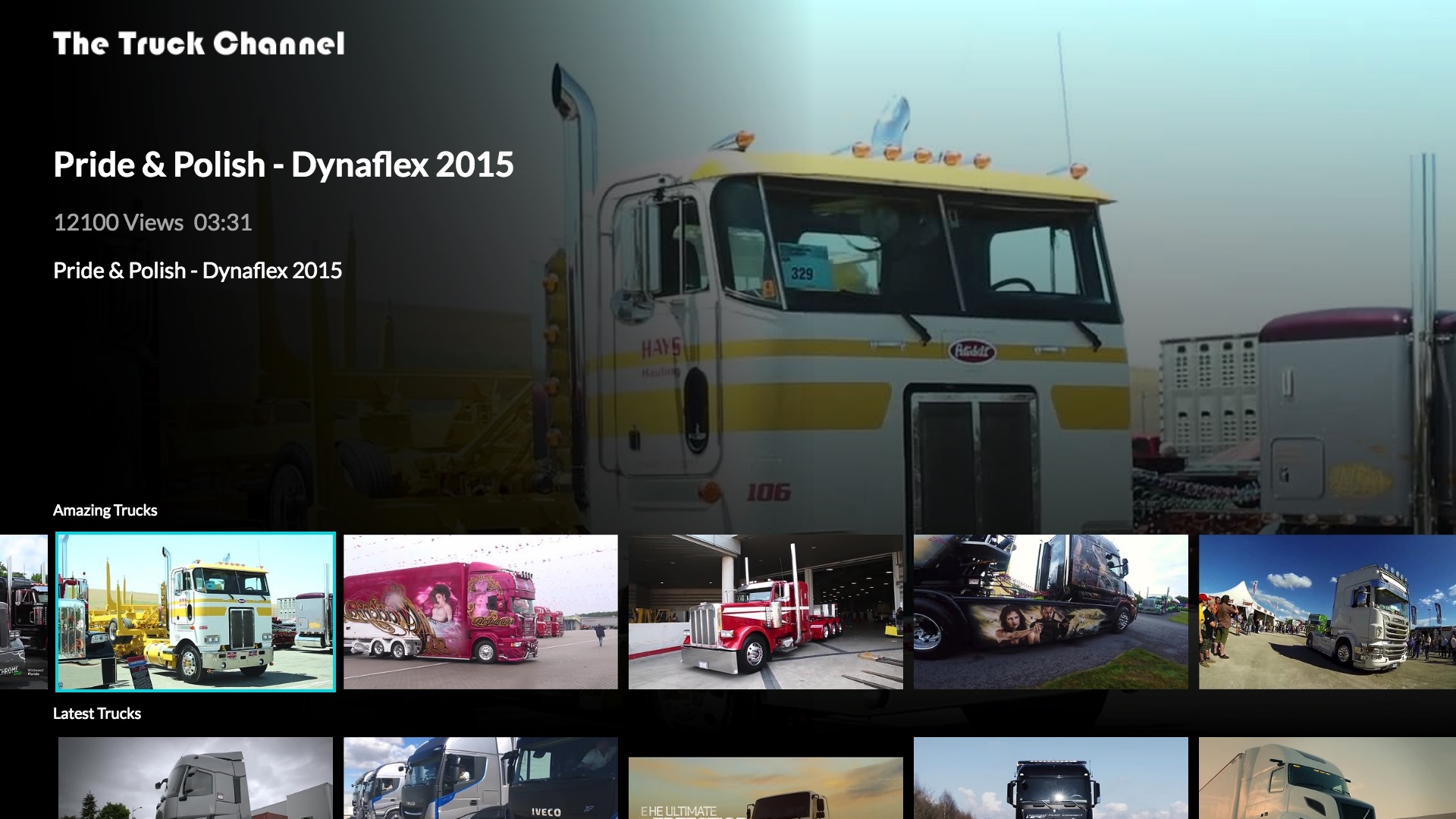 The Truck Channel Screenshot 002