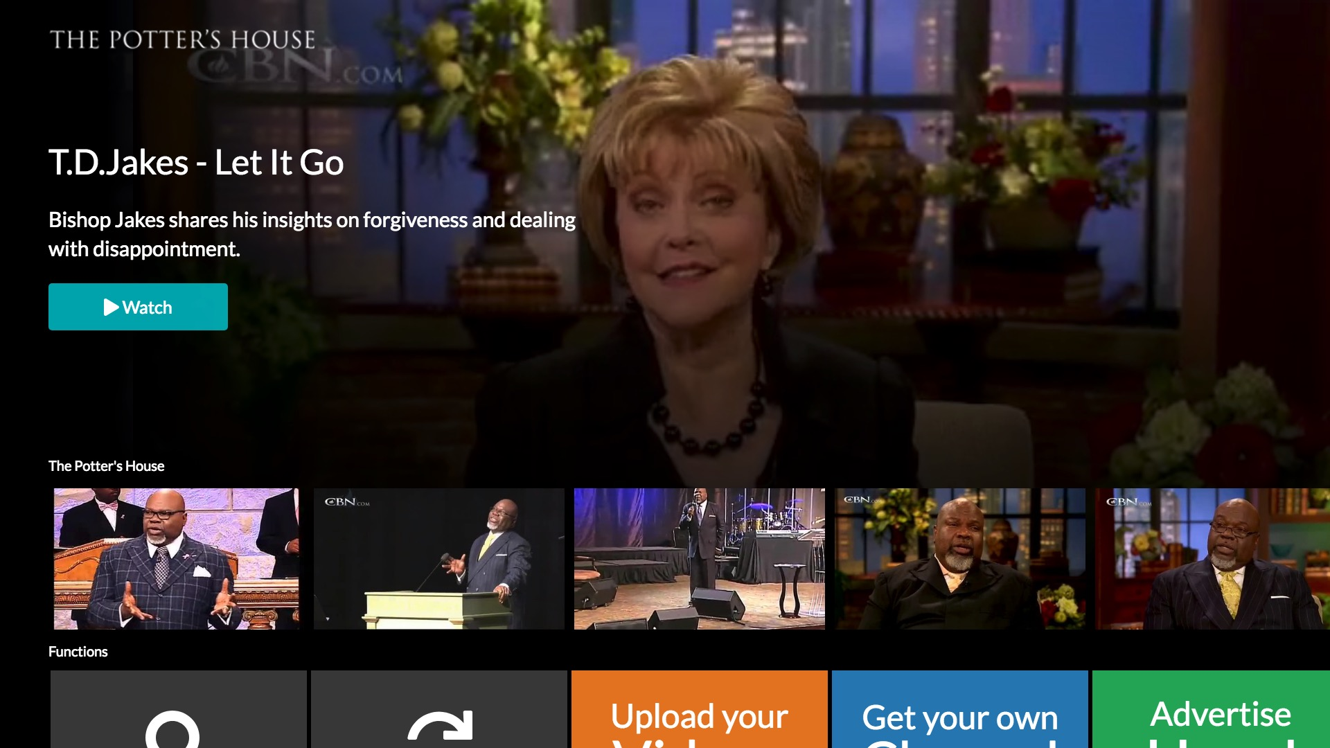 Potter's House - Fire TV App | Lightcast com