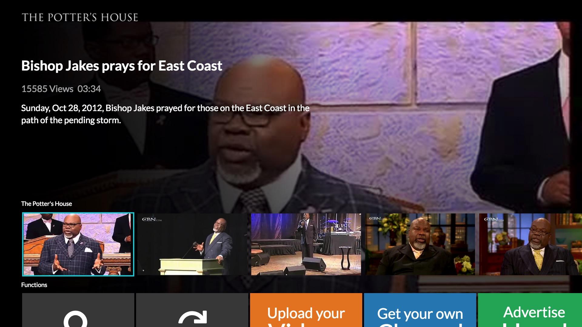 Potter's House - Fire TV App | Lightcast com