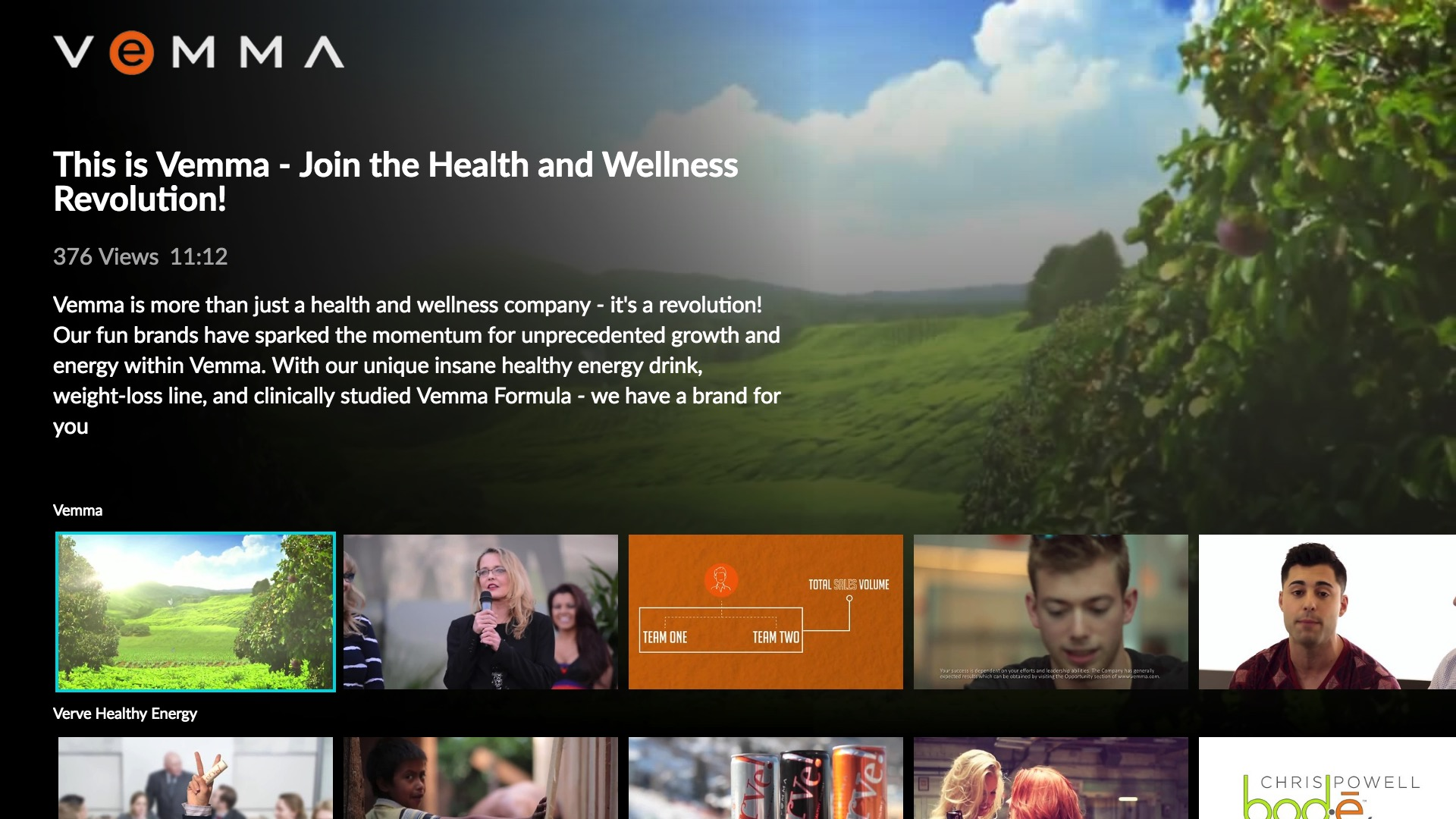 Vemma Screenshot 002