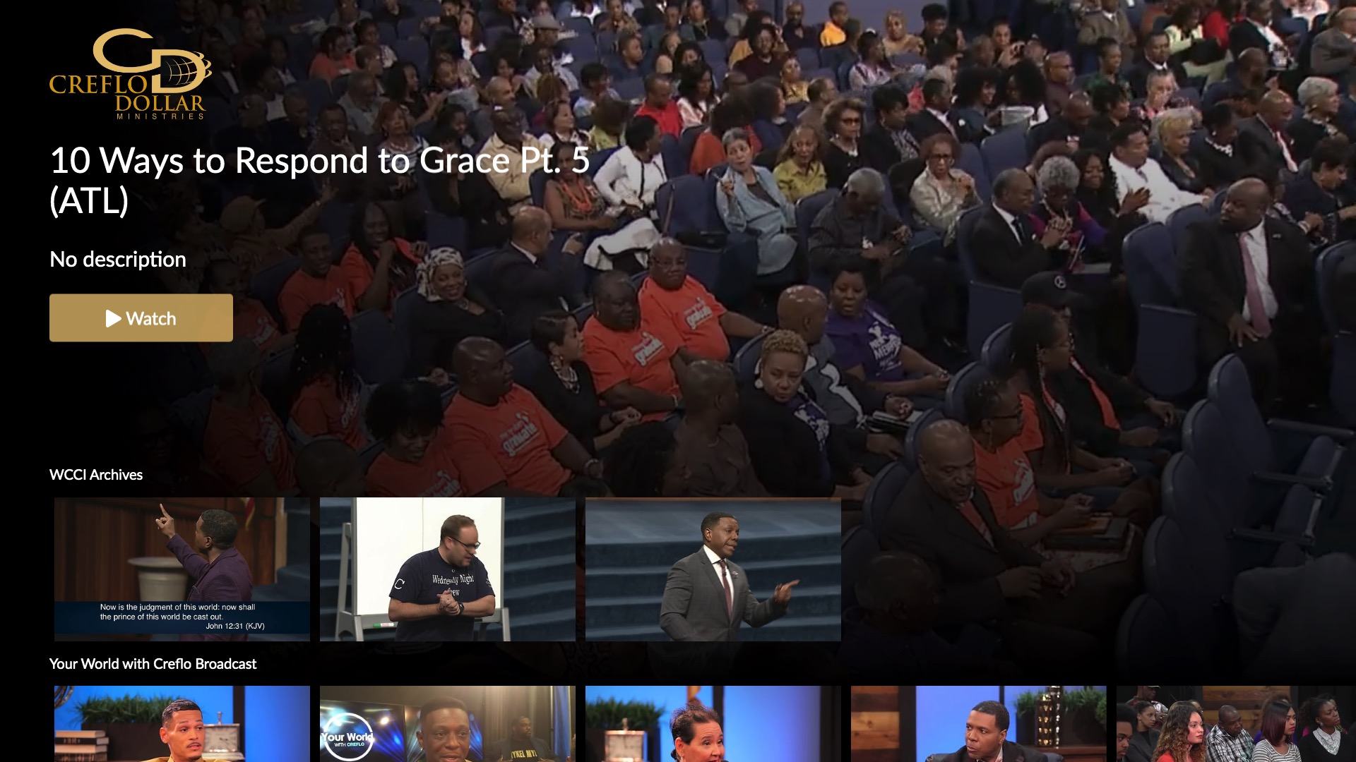 Creflo Dollar Ministries Screenshot 001