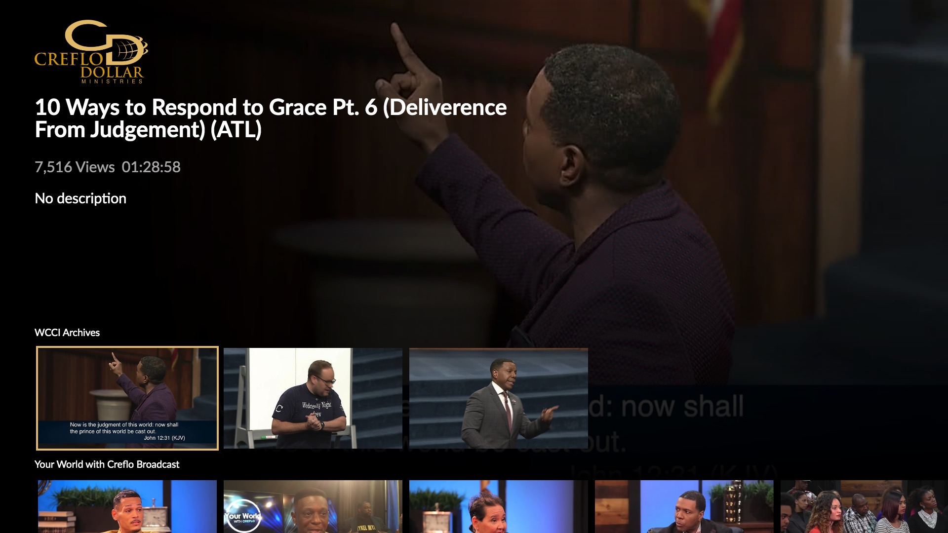 Creflo Dollar Ministries Screenshot 002