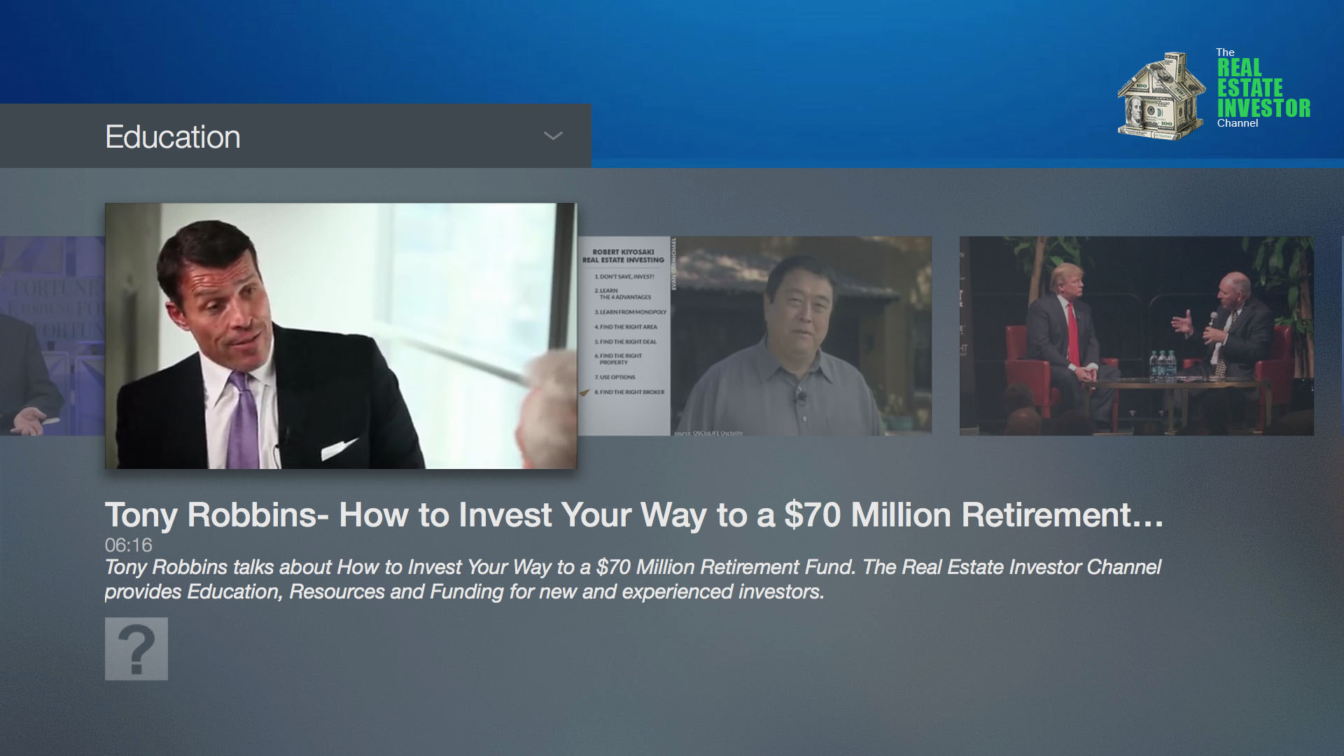 The Real Estate Investor Channel Screenshot 001