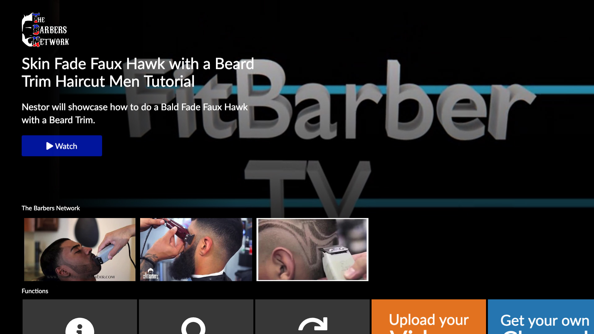 The Barbers Network Screenshot 001